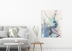 HEAR ME by John Beard. Abstract Art, Original and Hand Painted on Canvas