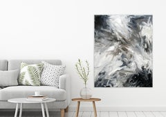IN THE FLOW by John Beard. Abstract Art, Original and Hand Painted on Canvas