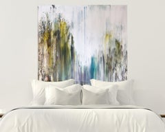 PATHWAYS by John Beard. Abstract Forest, Original and Hand Painted on Canvas