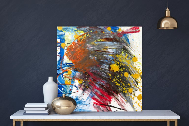 ARAGONITE, Fine Art with Artist Hand Embellished on Giclee Canvas: 36