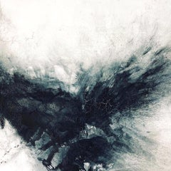 BLACK & GRAY III Fine Art with Hand Embellishment on Giclee Canvas Made to Order