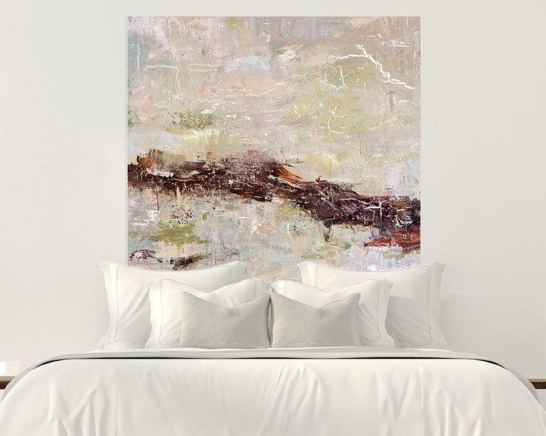 DUNES, Fine Art with Artist Hand Embellished on Giclee Canvas: 40