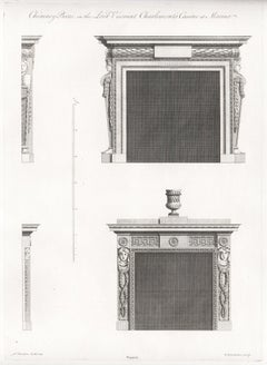 William Chambers Georgian Architecture - Chimney Pieces