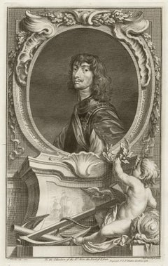 Algernon Percy Earl of Northumberland, portrait engraving, c1820