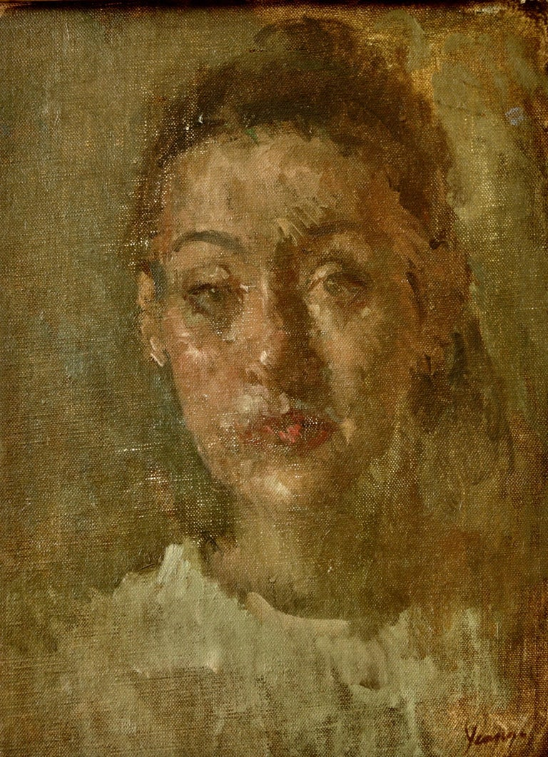 DANIELA. His work is both painterly and poetic,  - Painting by Martin Yeoman