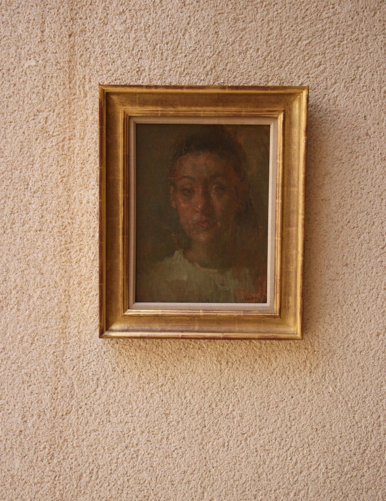 Martin Yeoman Portrait Painting - DANIELA. His work is both painterly and poetic,