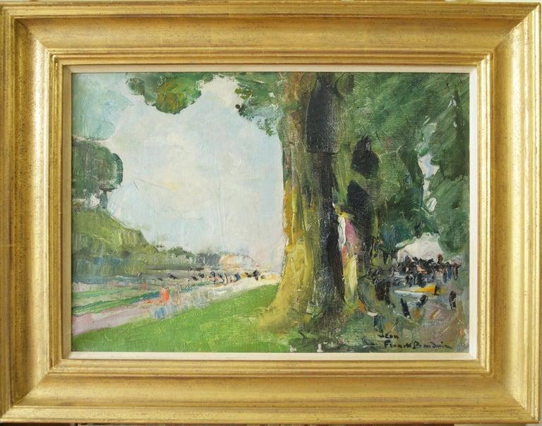 Jean Frank Baudoin Landscape Painting - Au Pied mon Arbre