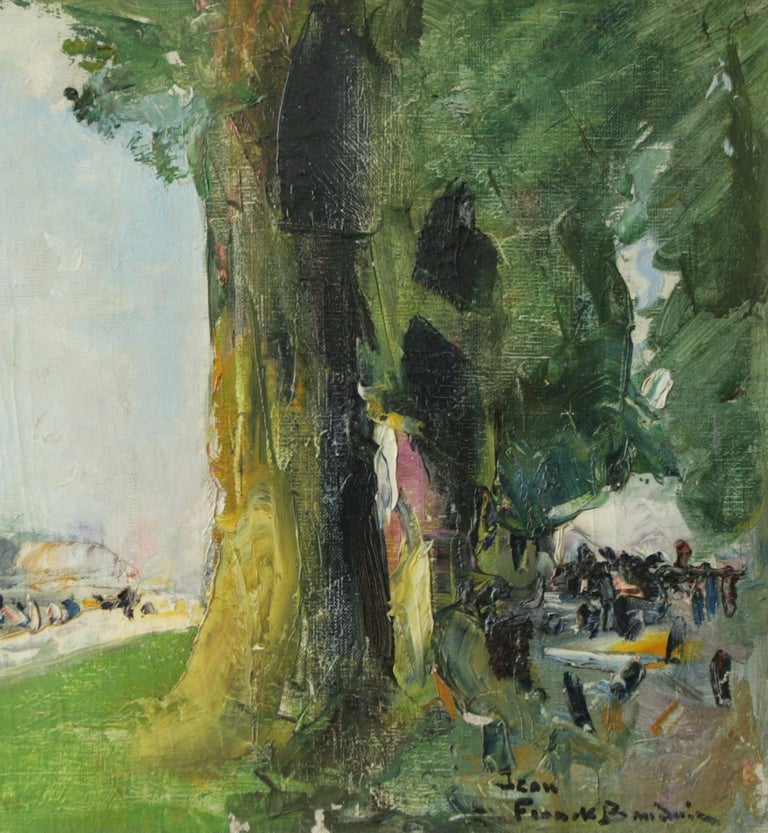 Jean-Franck Baudoin (1870 -1961) was one of the last great French post impressionist painters. This collection of works demonstrate Baudoin's uncomplicated vision of the world, summed up by his characteristic easy brushstroke, flirtation with light