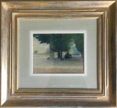 LUXEMBOURG GARDENS PARIS.Jean Franck Baudoin (1870-1961) post impressionist