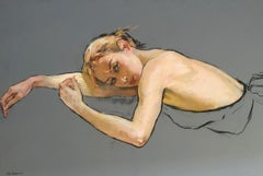 Resting Ballerina Katia Grindneva Contempary Ukrainian Artist