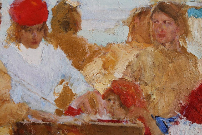 In the South - Painting by Renat Ramazanov
