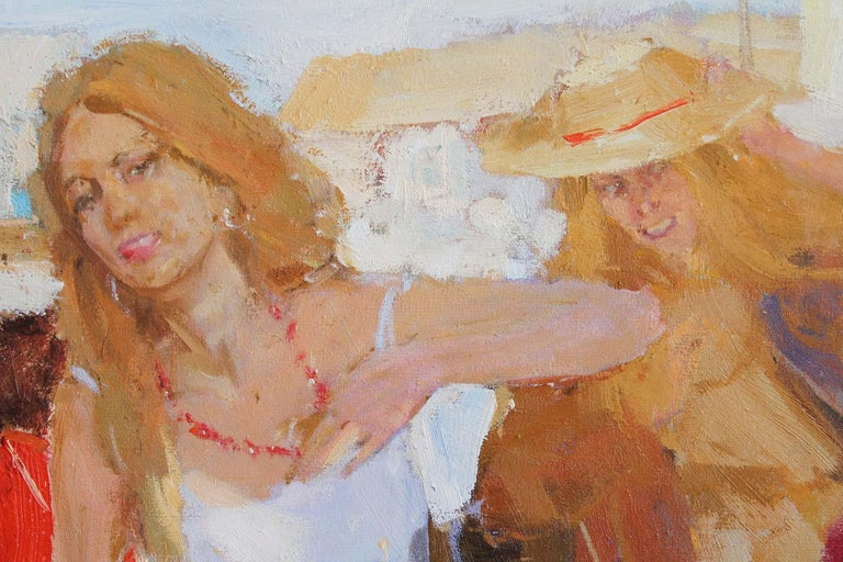 In the South - Impressionist Painting by Renat Ramazanov
