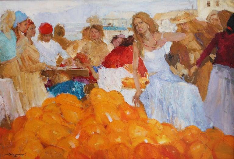 Renat Ramazanov Figurative Painting - In the South