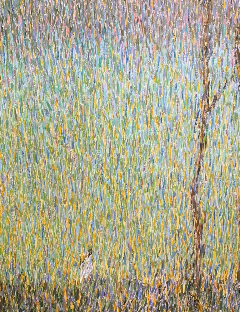 Morning Dream - Pointillist Painting by Roman Konstantinov
