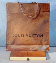 Brown and Blue (Louis Vuitton Bag)