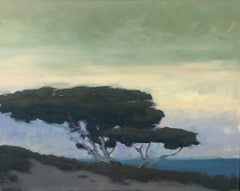 Untitled (Tree with green sky)