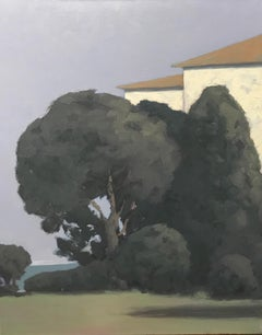 Untitled (Trees in front of house)