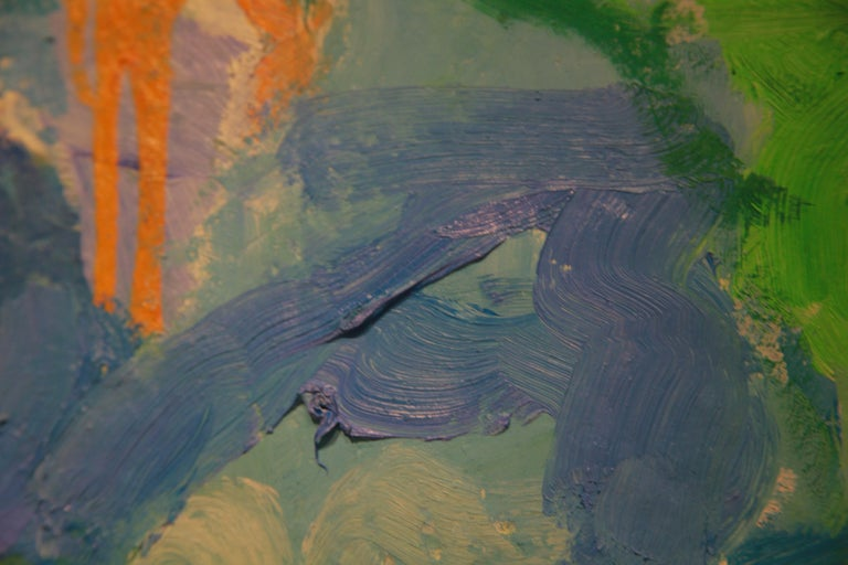 Under Sea II - Abstract Expressionist Painting by Judith Goldsmith