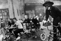 Bicycle Dystopia - Noir Black & White Photography