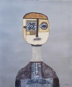 Untitled Gray Neutral Portrait