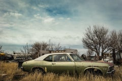 Nova Car - Marfa Texas - Vintage Car Photograph