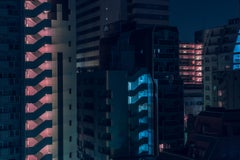 Japan Noir Modern Architecture Photograph