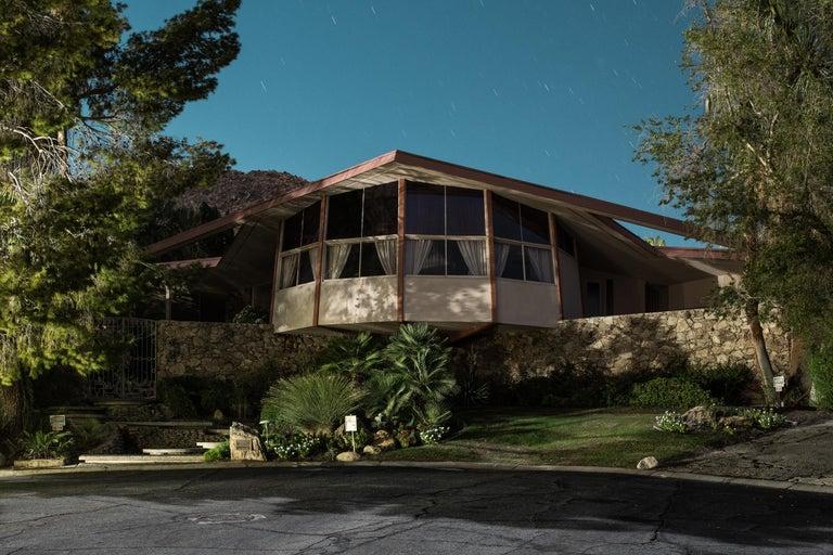 Tom Blachford Landscape Photograph - Mid Century Modern Architecture Palm Springs Photograph