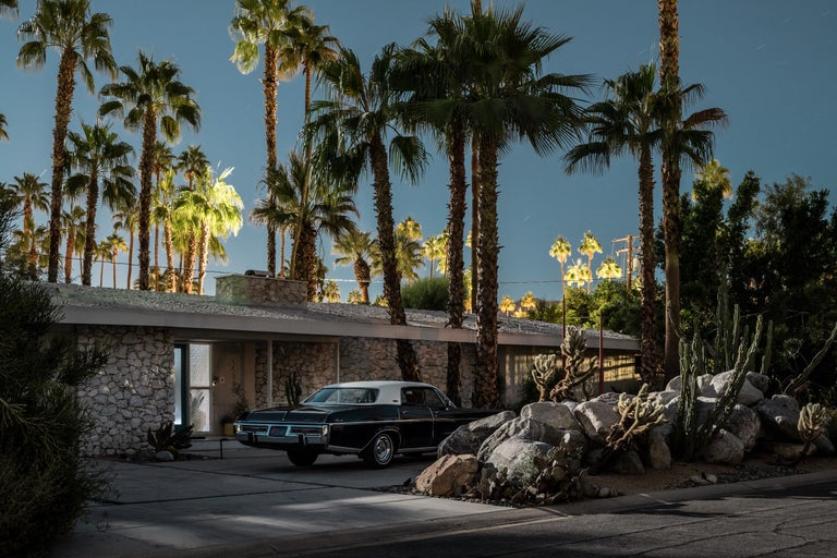 Tom Blachford Landscape Print - Mid Century Modern Architecture Home Palm Springs California