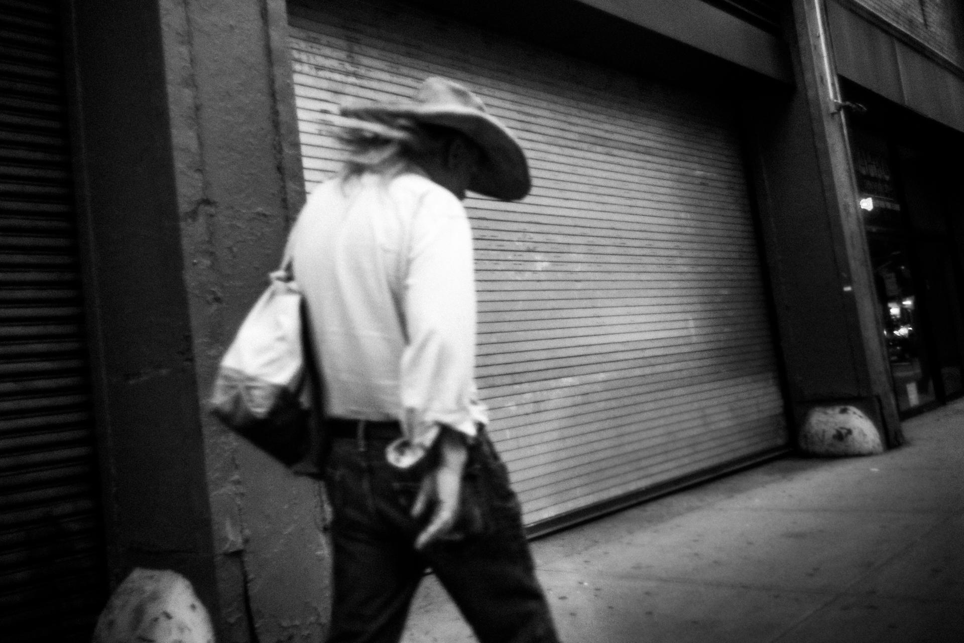 'Untitled' Cowboy Studies - Noir Black & White Photography