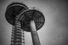 Untitled New York State Pavilion - Noir Black & White Photography