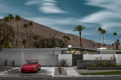 Mid Century Modern Architecture Photograph - Raspberry Camino - Tom Blachford's
