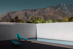 Mid Century Modern Architecture Photograph - Jennings Pool - Tom Blachford's