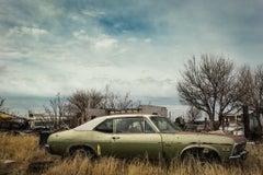 Nova Car - Marfa Texas - Vintage Car Photograph