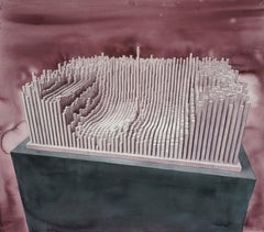 Financial Depreciation (Abstract Large scale Watercolor)