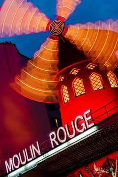 Moulin Rouge - Paris, France-Celine Dion Tour 2016 - Edition Size-10 - 30x45""