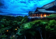 Treetop Temple - High Dynamic Range Photograph - Edition of 5