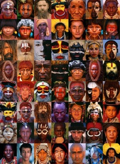 Mosaic of Man - Limited Edition of 100 - Fine Art Photography - Tribes People