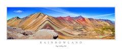 """Rainbowland"" - Edition of 25 - Acrylic"
