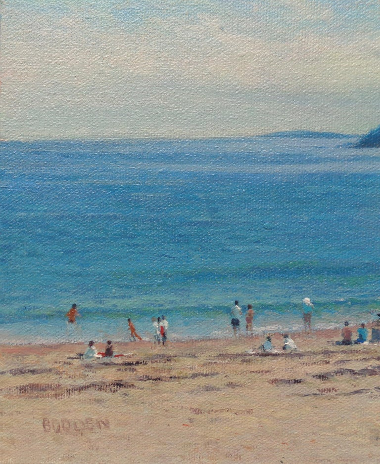 Landscape Oil Painting  Acadia Maine Contemporary by Artist Michael Budden For Sale 1