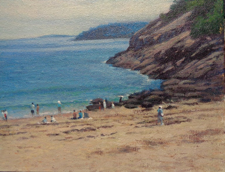 Landscape Oil Painting  Acadia Maine Contemporary by Artist Michael Budden For Sale 2