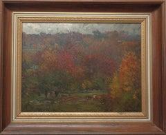 American Impressionist Artist Oil Painting John J Enneking