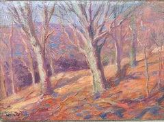 American Impressionist Artist John F Carlson Oil Painting Woodstock