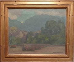 California Impressionist OilPainting The Cliffs Trabuca Canyon Aaron Kilpatrick