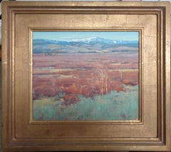 Wyoming Landscape Oil Painting by Scott L Christensen