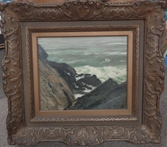Frederick J Waugh Marine Seascape oil Painting Rocks and Surf