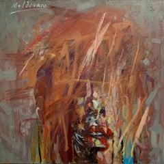 "Adrian Moldovan ""Overcast Portrait"" (2019), original oil on canvas"