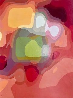 "John Casler ""Chasing Hans Hoffman"" (2006), original acrylic on canvas"