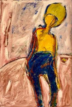 "Michael Maccarone ""Silhouette"", original acrylic on canvas"
