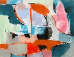 "William Jacobs ""Untitled"", original pastel on paper"