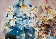 """""""Florence Cathedral"""", original watercolor on paper"""